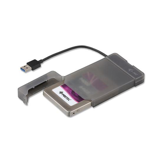 Immagine di I-TEC BOX ESTERNO 2,5 HDD USB 3.0 BLACK