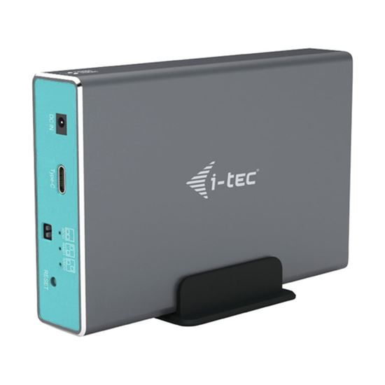 Immagine di I-TEC BOX ESTERNO 2.5 2X HDD/SSD SATA WITH RAID USB-C/A
