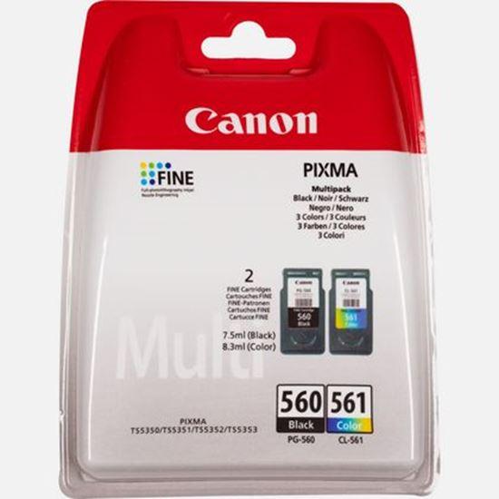 Immagine di CANON CART. INK MULTIPACK PG-560 / CL-561 (NERO - CIANO - MAGENTA - GIALLO)