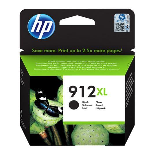 Immagine di HP CART. INK NERO N. 912XL PER OFFICEJET 8012, 8013, 8014, 8015, 8022, 8024, 8025, 8035