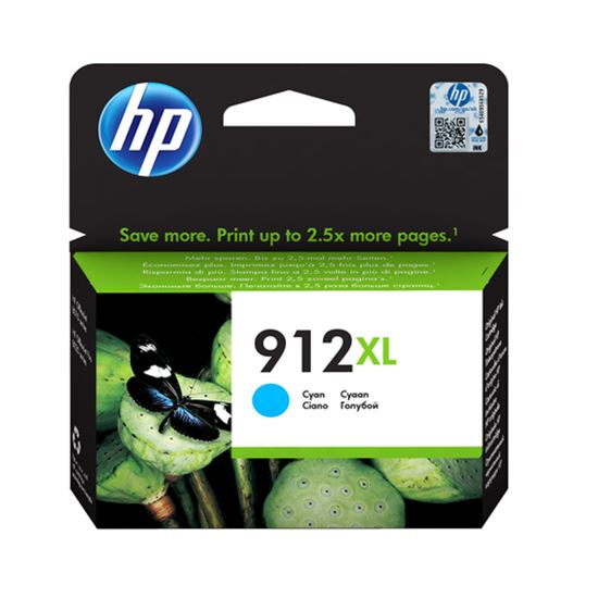 Immagine di HP CART. INK CIANO N. 912XL PER OFFICEJET 8012, 8013, 8014, 8015, 8022, 8024, 8025, 8035
