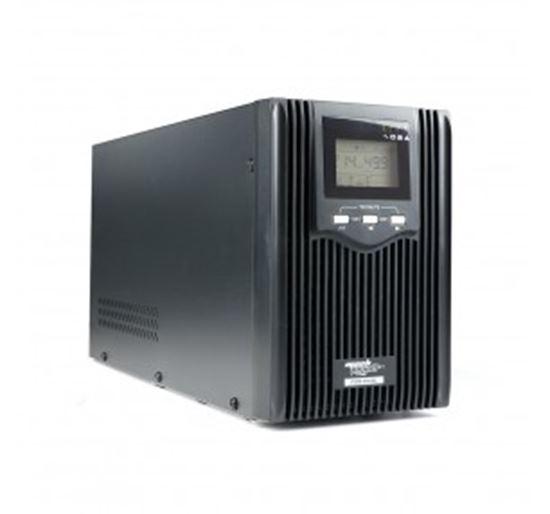 Immagine di MACHPOWER UPS 2400VA/1600W SINUS. PURA 3x12V/8Ah 3IEC LCD USB/RJ11