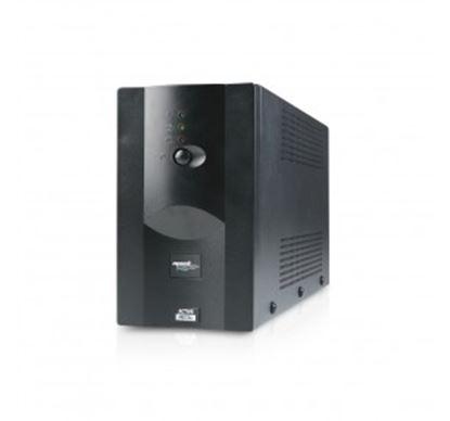 Immagine di MACHPOWER UPS 800VA/390W METAL 1x12V/7Ah, 2xOUTPUT, 1xUSB, SOFTWARE