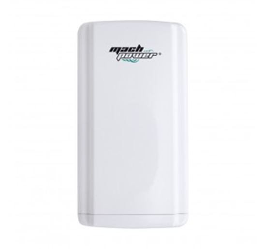 Immagine di MACHPOWER ACCESS POINT/CPE MANAGED 2.4Ghz, 150Mbps, PoE24V, 11dBI, RANGE 1KM, CLOUD OUT