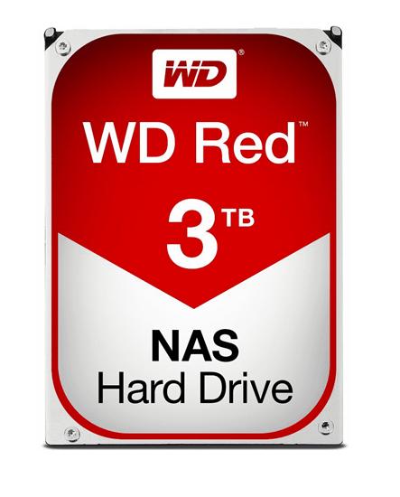 Immagine di WESTERN DIGITAL HDD 3TB RED 3,5 SATAIII 6GB/S 64MB 5,4K