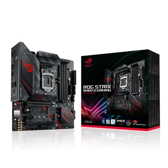 Immagine di ASUS MB ROG STRIX B460-G GAMING 1200 4DDR4 HDMI DP