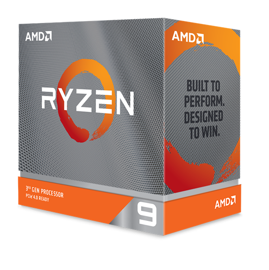 Immagine di AMD CPU RYZEN 9 3900XT 4,7GHZ AM4 12 CORE 70MB CACHE 105W NO COOLER