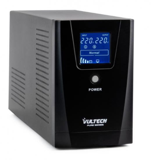 Immagine di VULTECH UPS 1500VA PURE LINE INTERACTIVE CON ONDA SINUSOIDALE PURA E LCD