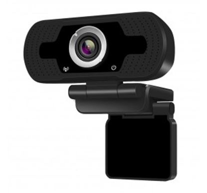 Immagine di MACHPOWER WEBCAM FULL HD 1920X1080P, 30 FPS, MICROFONO INTEGRATO, RIDUZIONE RUMORE, USB, PLUG AND PLAY
