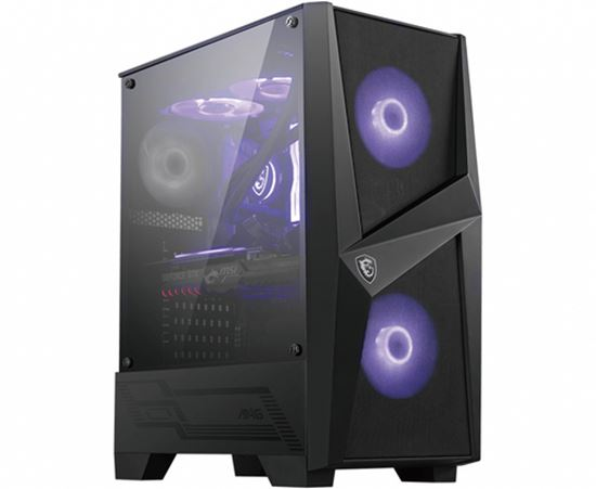 Immagine di MSI CASE ATX MID-TOWER MAG FORGE 100R, 7 SLOT HDD, 3X120MM ARGB FAN FRONT