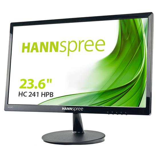 """Immagine di HANNSPREE MONITOR 23.6"""" LED MVA 16:9 FHD 10MS 250 CDM VGA/HDMI, MULTIMEDIALE"""