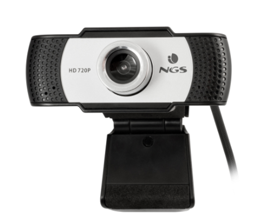 Immagine di NGS WEBCAM HD 1280X720P, USB 2.0, MICROFONO INCORPORATO, MESSA A FUOCO MANUALE