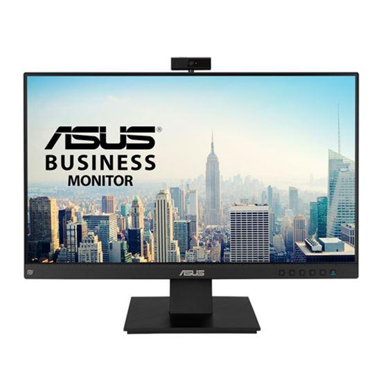 "Immagine di ASUS MONITOR 23,8"" LED IPS FHD 16:9 5MS 300 CDM VGA/DP/HDMI WEBCAM, MULTIMEDIALE - 3 ANNI GAR."