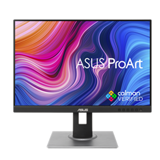 "Immagine di ASUS MONITOR 24"" LED IPS WUXGA 16:10 5MS 300 CDM VGA/DP/HDMI, PROART DISPLAY, 100 sRGB, 100 REC.709, CALMAN VERIFIED"