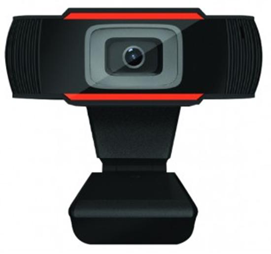 Immagine di MACHPOWER WEBCAM USB HD 720P 1MP SMART MEETING, MICROFONO INCORPORATO, NERO