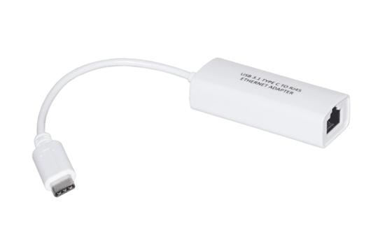 Immagine di LINK ADATTATORE USB TIPO C MASCHIO CONNETTORE RJ45 FEMMINA PER RETI10/100