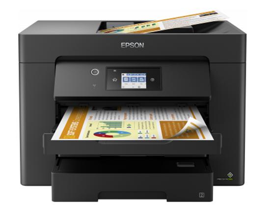 Immagine di EPSON MULTIF. INK WF-7830DTWF A3 COLORI 12PPM 4800X2400DPI FRONTE/RETRO USB/LAN/WIFI/ETHERNET - 4 IN 1