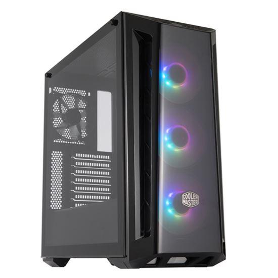 Immagine di COOLER MASTER CASE MASTERBOX MB520 MID-TOWER ATX, 7 SLOT ESPANSIONE, 2XUSB 3.2, 3X120MM ARGB FAN FRONT, 1X120MM FAN REAR, ARGB