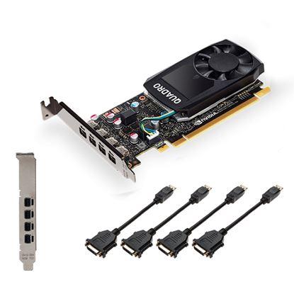 Immagine di PNY VGA QUADRO P620DVI V2 2GB CUDA CORES GDDR5 DP LOW PROFILE