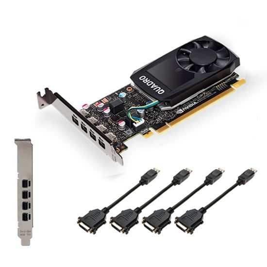 Immagine di PNY VGA QUADRO P620DVI V2 2GB CUDA CORES GDDR5 DP LOW PROFILE