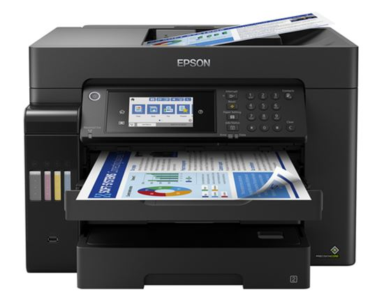 Immagine di EPSON MULTIF. INK ECOTANK ET-16650 COLORE A3 FRONTE/RETRO 25PPM 4IN1 USB/LAN/WIFI