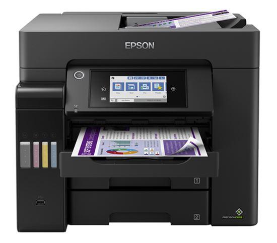 Immagine di EPSON MULTIF. INK ECOTANK ET-5850 COLORE A4 FRONTE/RETRO 25PPM 4IN1 USB/LAN/WIFI