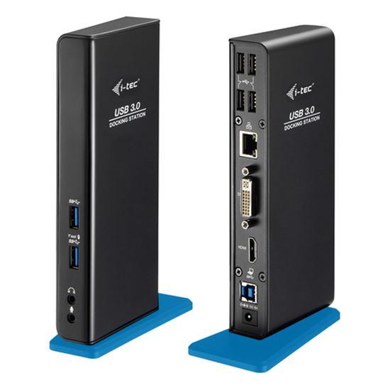 Immagine di I-TEC DOCKING STATION USB 3.0 DUAL HD VIDEO, AUDIO, HUB USB 3.0