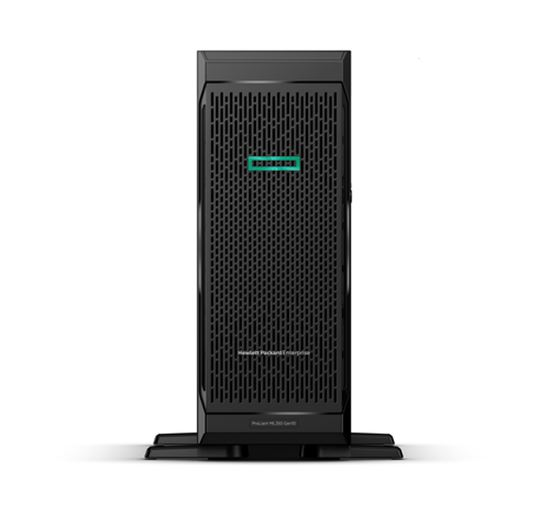Immagine di HPE SERVER TOWER ML350 GEN10 XEON 4208 1P 8CORE 2,1 GHz, 16GB DDR4 2933MHz, HPSFF P408I 1X800W