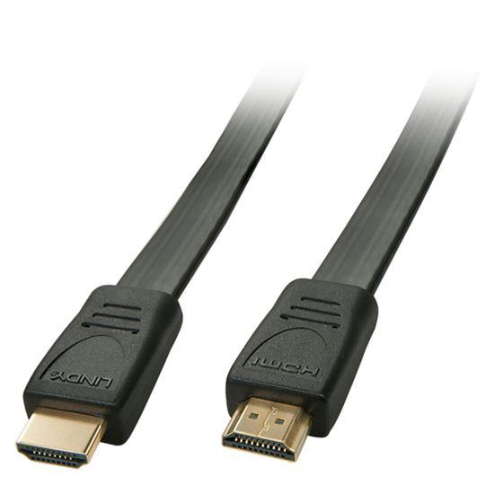 Immagine di LINDY CAVO FLAT HDMI HIGH SPEED 2M