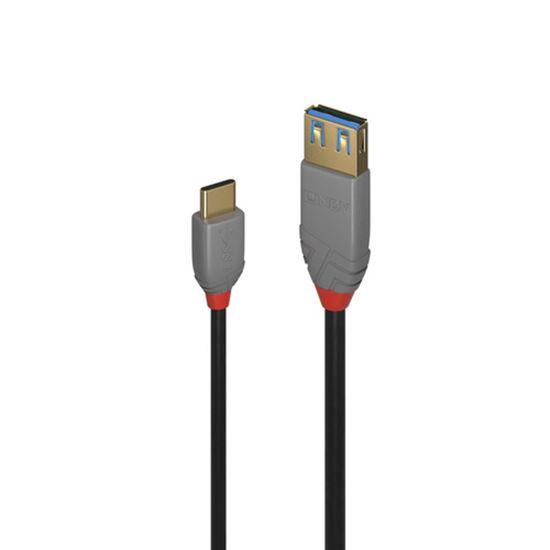 Immagine di LINDY CAVO ADATTATORE USB 3.1 TIPO C/A ANTHRA LINE