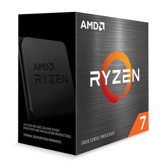 Immagine di AMD CPU RYZEN 7 5800X 4,70GHZ 8 CORE SKT AM4 CACHE 36MB 105W WOF