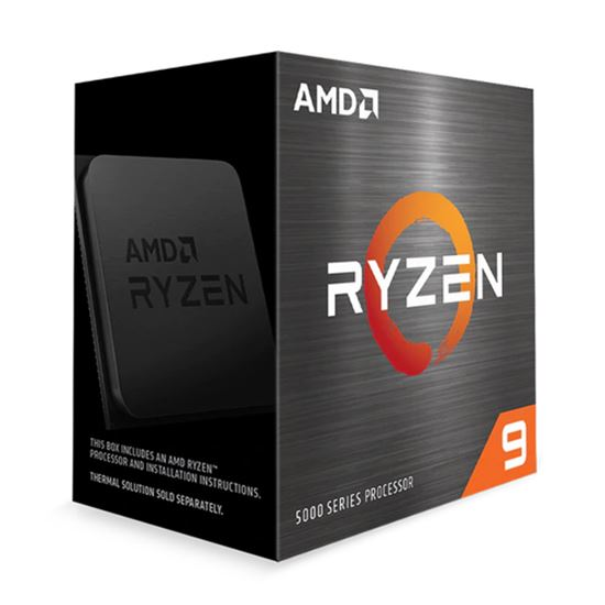 Immagine di AMD CPU RYZEN 9 5900X 4,80GHZ 12 CORE SKT AM4 CACHE 70MB 105W WOF