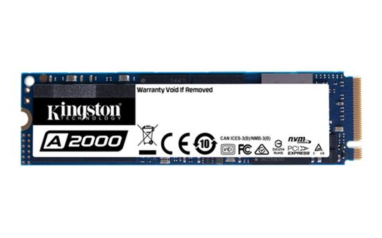 Immagine di KINGSTON SSD SA2000 M2 2280 NVME PCIE 3.0 2200/2000 MB/S