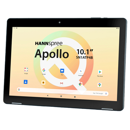 Immagine di HANNSPREE TABLET APOLLO 10.1 ANDROID 10 1280x800 IPS LED QUAD-CORE COU ARM CORTEX-A53 64BIT  2.0 GHZ 3GB+32GB MULTI-TOUCH DUAL BAND 2MP 5000mAh