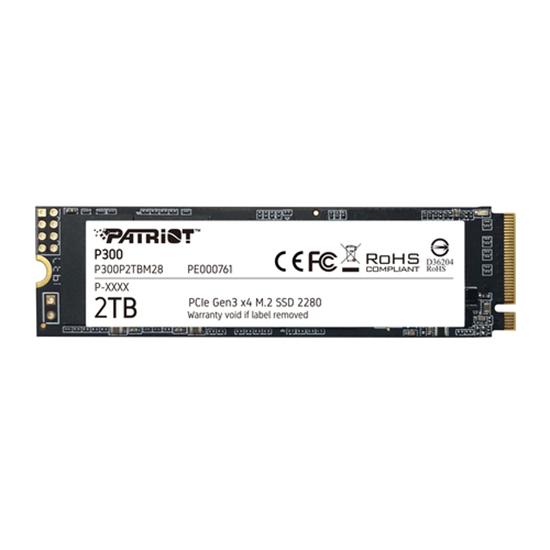 Immagine di PATRIOT SSD P300 2TB M2 2280 PCIE GEN3, 2100MBS/1650MBS R/W