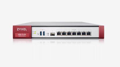 Immagine di ZYXEL FIREWALL USG FLEX 200 SECURITY GATEWAY 4XWAN, 2XLAN, 2XUSB, VPN 40 IPSEC/L2TP, 60 SSL, AMAZON VPC, SSL INSPECTION, PCI DSS COMPLIANT, WLAN CONTROLLER 8 AP