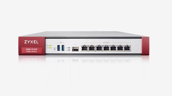 Immagine di ZYXEL FIREWALL USG FLEX 200 SECURITY GATEWAY 4XWAN, 2XLAN, 2XUSB, VPN 40 IPSEC/L2TP, 60 SSL, AMAZON VPC, 1 ANNO SECURITY PACK INCLUSO, SSL INSPECTION, PCI DSS COMPLIANT, WLAN CONTROLLER 8 AP