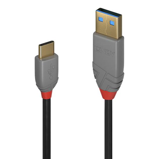 Immagine di LINDY CAVO USB 2.0 TIPO C/A ANTHRA LINE, 2M