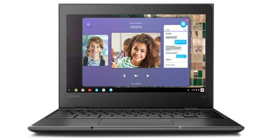 Immagine di LENOVO NB 100E CHROMEBOOK N4020 4GB 32GB 11,6 CHROME