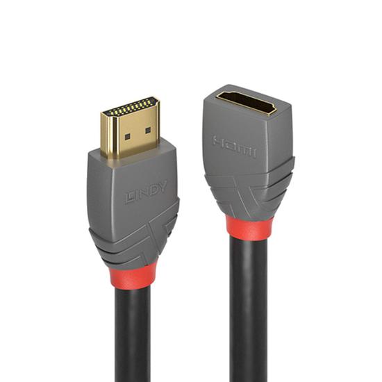 Immagine di LINDY 3M HDMI 2.0 VERLNGERUNG, ANTHRA LINE