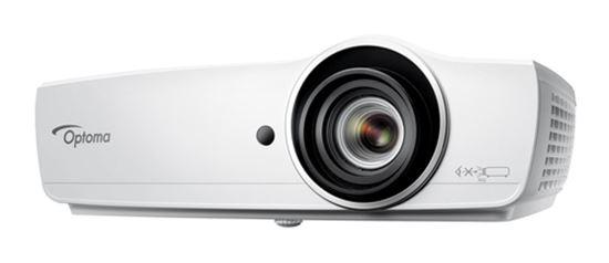Immagine di OPTOMA VIDEOPROIETTORE EH470 OTTICA CORTA, 5000L 20.000:1, FHD, VGA/HDMI, RETE LAN, 10 W SPEAKER