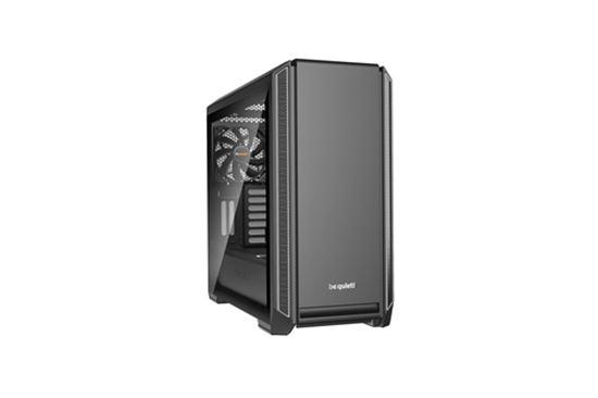 Immagine di BE QUIET! CASE ATX-EATX SILENT BASE 601 WINDOW, 7+2 HDD SLOT, 1XUSB2.0, 2XUSB3.0, 1XAUDIO I/O, SILVER
