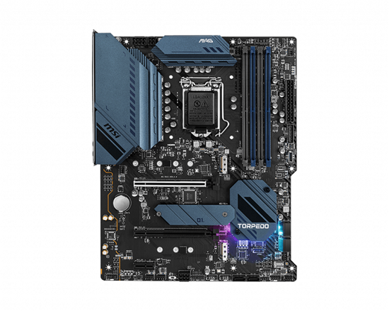 Immagine di MSI MB MAG B560 TORPEDO, LGA 1200, 4DDR4, 2PCI-Ex16, 3M2, 6SATA3 COFFEE, ROCKET LAKE