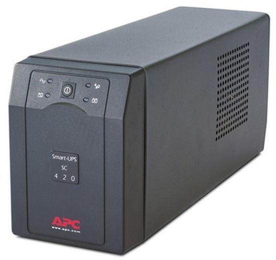 Immagine di APC SC420I SMART -UPS SC 420VA 230V