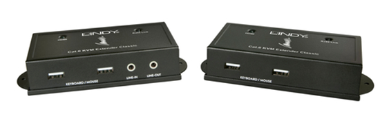 Immagine di LINDY EXTENDER KVM CLASSIC CAT.6 HDMI USB-HID AUDIO 50M