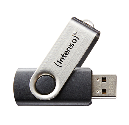 Immagine di INTENSO PEN DISK 8GB USB 2.0 BASIC LINE BLACK