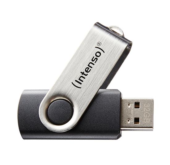 Immagine di INTENSO PEN DISK 8GB USB 2.0 BASIC LINE BLACK