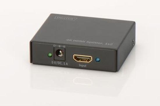 Immagine di DIGITUS SPLITTER 4K HDMI ULTRA HD PER 2 MONITOR CON 1 DISPOSITIVO
