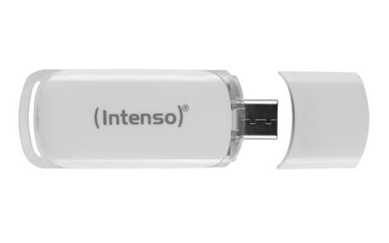 Immagine di INTENSO PEN DISK 128GB USB 3.1 TYPE C FLASH LINE GREY