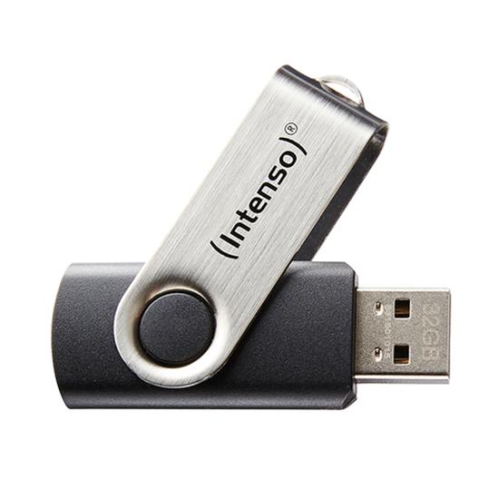 Immagine di INTENSO PEN DISK 32GB USB 2.0 BASIC LINE BLACK